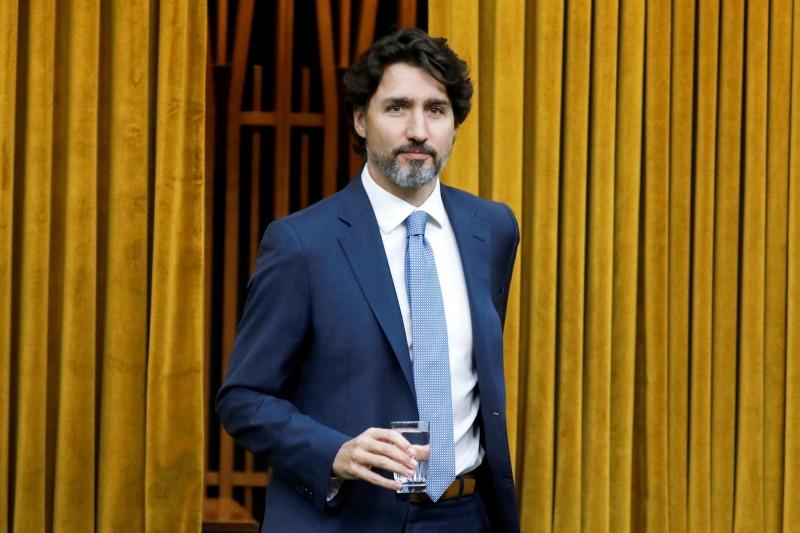 加拿大總理杜魯道不接受中國干預加國新聞自由。(路透)
