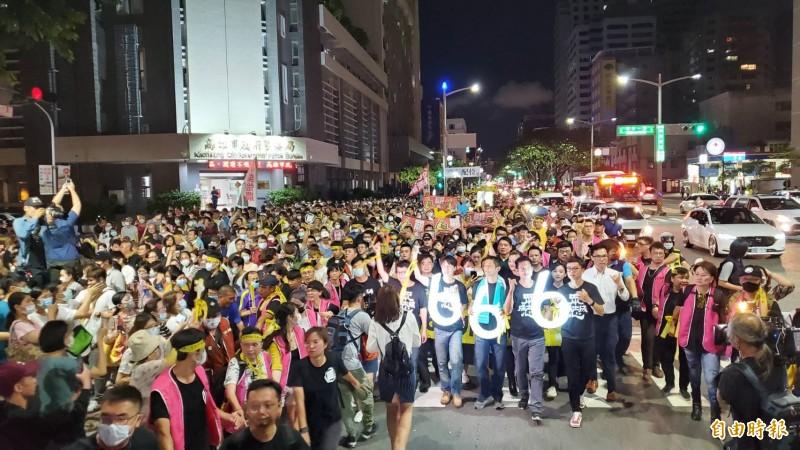 罷韓今晚追念228遊行 吳怡農現身「一定要投票」