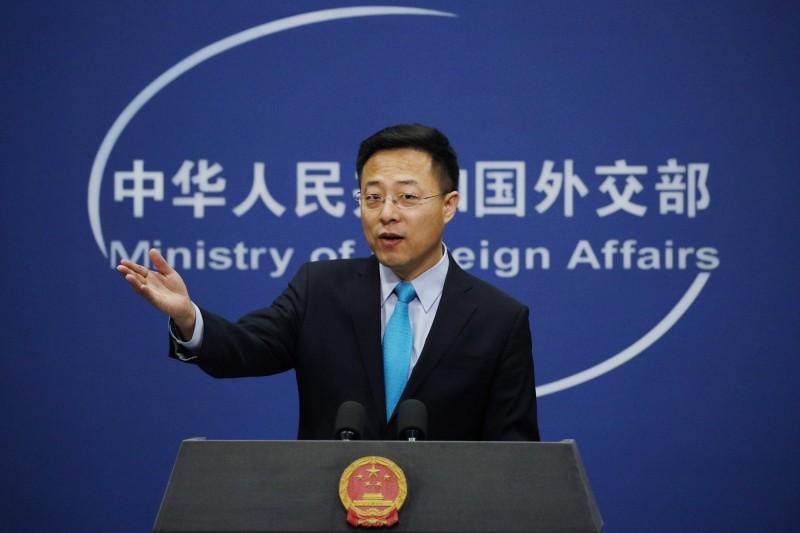中國強推「港版國安法」,對於英國表態「考慮接收近300萬香港人」,中國外交部發言人趙立堅(見圖)說,「國際串連沒有出路,對此堅決反對」。(資料照,美聯社)
