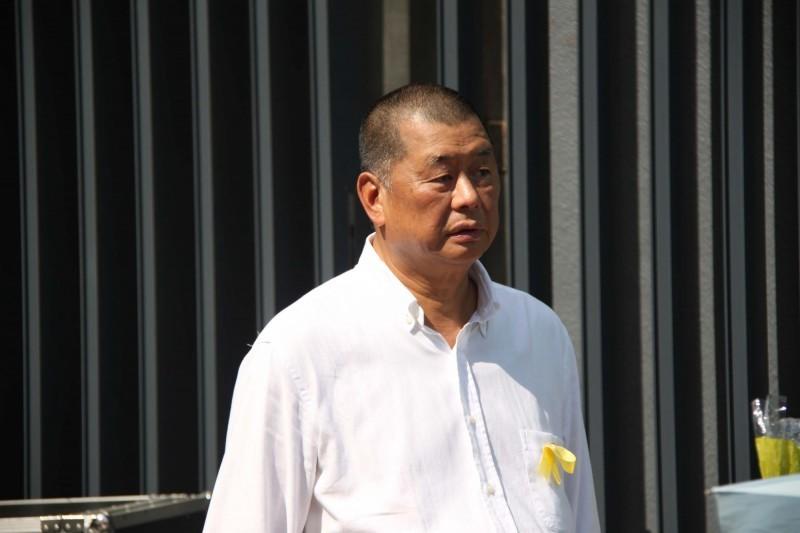 香港壹傳媒集團創辦人黎智英。(中央社資料照)