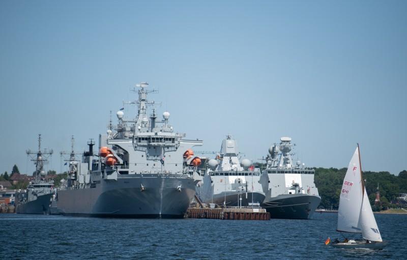 北約19個成員國及合作夥伴週五(5日)展開為期10天的2020年「波羅的海行動」聯合軍演,宣示波羅的海不是任何國家的「前院」,圖為2019年「波羅的海行動」。(歐新社)