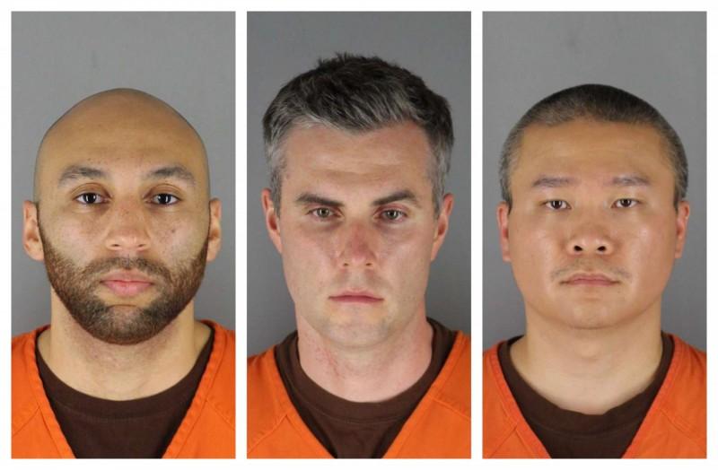 美國法院判決,亞歷山大‧康(左)、雷恩(中)、陶杜(右)3人的保釋金皆為100萬美元,若符合條件則可降為75萬美元。(美聯社)