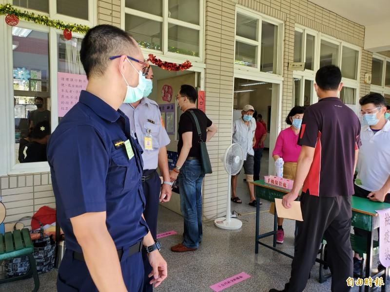 高雄市長韓國瑜罷免案,投票時間從今日上午8點開始,已於下午4點結束。(記者陳文嬋攝)