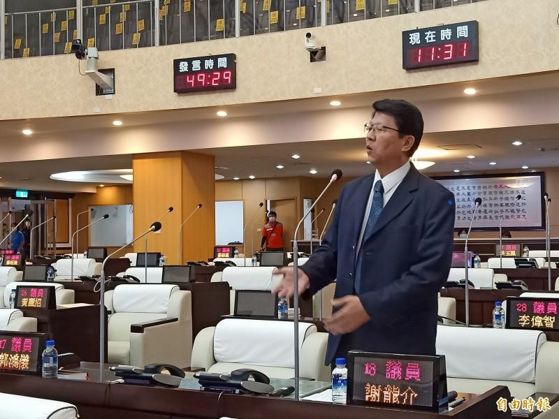 國民黨副秘書長謝龍介。(資料照)