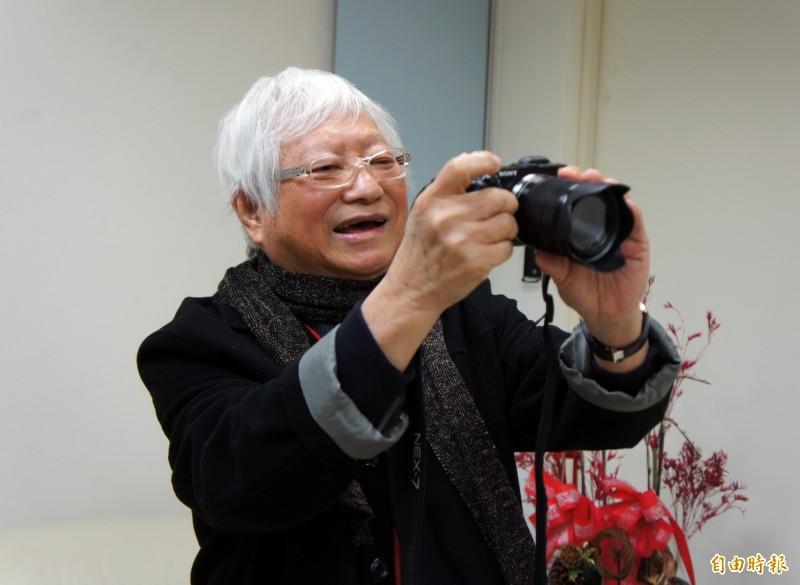 被譽為「台灣現代攝影第一人」的攝影家柯錫杰昨晚過世,享壽90歲。(資料照)