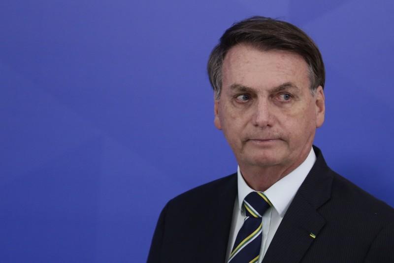 巴西總統波索納羅(Jair Bolsonaro)。(美聯社資料照)