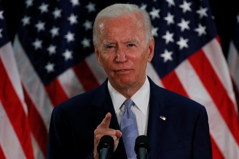 美前副總統拜登將代表民主黨參選2020美國總統。(路透)