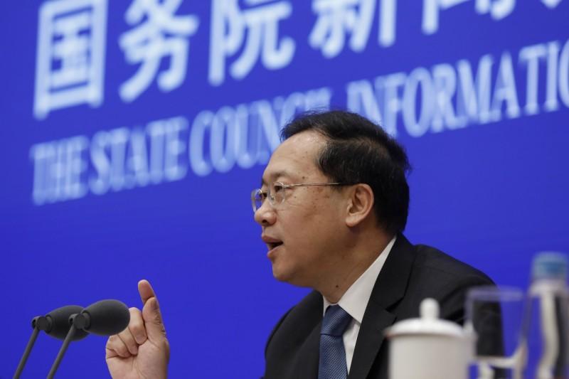 中國外交部副部長馬朝旭稱,他不認為疫情使中國的國際關係受到負面影響。(歐新社)