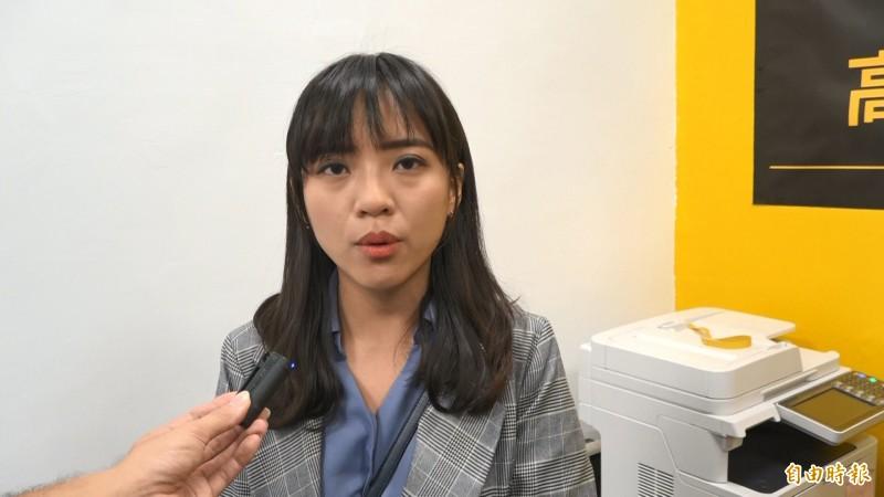 高雄市議員黃捷(見圖)面對「罷捷」表示遺憾,但不會反對市民行使公民權,反而認為是一個試煉。(資料照)