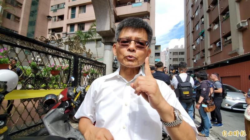楊秋興(見圖)認為,高雄市長韓國瑜遭罷免,證明「老天爺也看不下去」,也認為韓國瑜與國民黨至今仍不懂得自我檢討與反省。(記者陳文嬋攝)