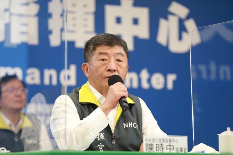 中央流行疫情指揮中心指揮官陳時中表示,要開放邊境旅遊是比較後面的次序,主要是因為出去的人可能會感染,進來的人也可能存在風險,恐很快就讓台灣醫療崩解,直言「不是開玩笑的事情」。(圖由指揮中心提供)