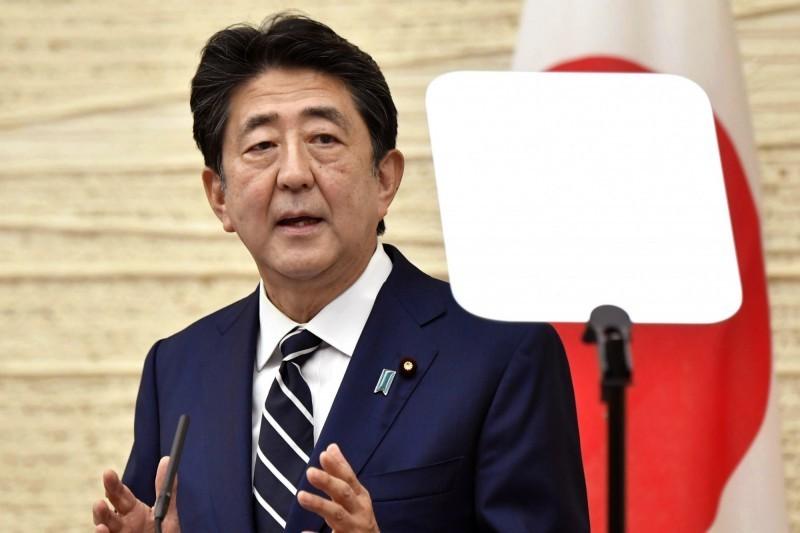 日本首相安倍晉三希望主導7大工業國(G7)就港版國安法一事發表聯合聲明,表達憂慮與關注。(美聯社)