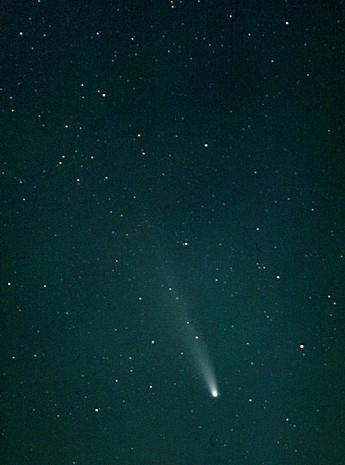 「池谷-張彗星」(153P/Ikeya-Zhang)的彗尾可能長達10億公里,是目前已知彗尾最長的彗星。(圖擷自Wiki)