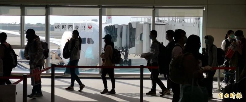 滯留俄羅斯的國人透過駐日代表處協助,上月26日搭乘日本航空返台,今天已屆滿14天解除隔離。(資料照)