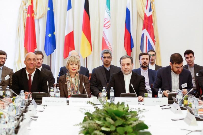 然而美國的主張遭到中國、俄羅斯以及歐盟反對,批評美國已經單方面撕毀JCPOA,「沒有資格再利用JCPOA的框架對伊朗進行永久性武器禁運」。圖為JCPOA聯合委員會。(歐新社)