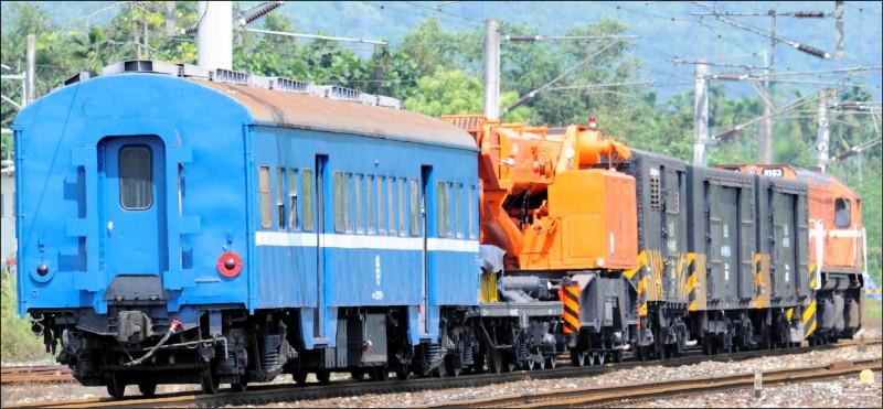 台鐵昨早一列貨物列車後方車廂溜逸,往南滑行4公里。圖為台鐵貨車廂示意圖,與新聞無關。(資料照)
