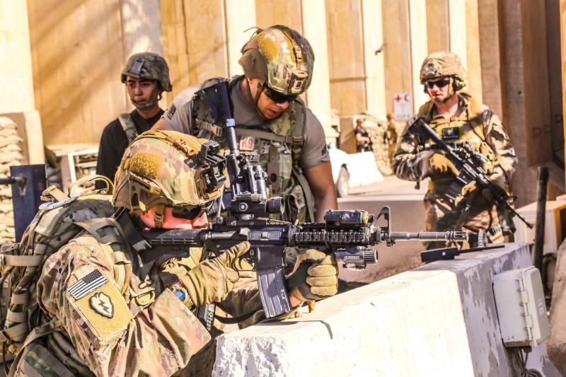 美國軍隊。(路透資料照)