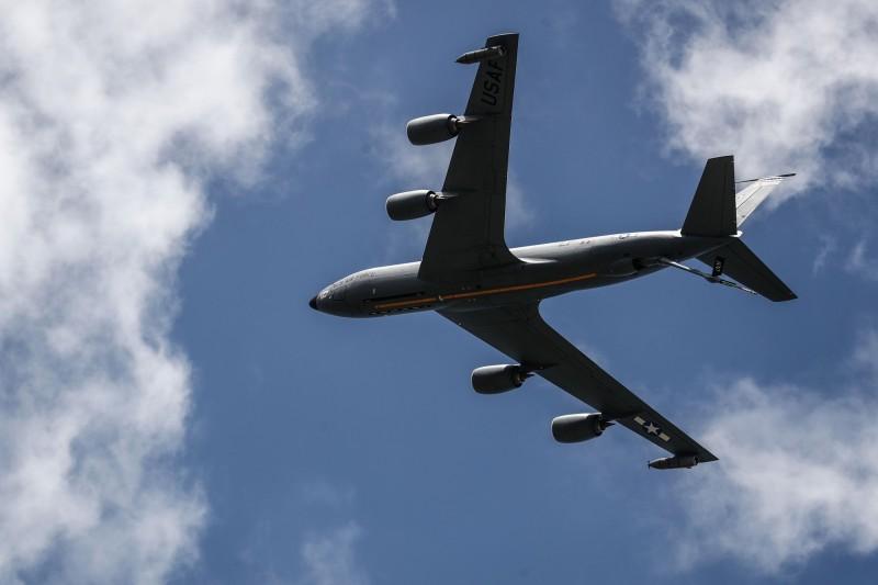 KC-135。(法新社)