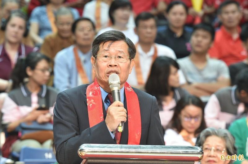 高雄市代理市長楊明州今天上任,隨即傳出校園疑似群聚感染事件。(資料照)