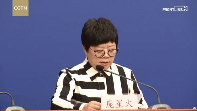 北京市疾控中心副主任龐星火表示,不排除出現續發病例的可能。(擷取自CGTN記者團微博)
