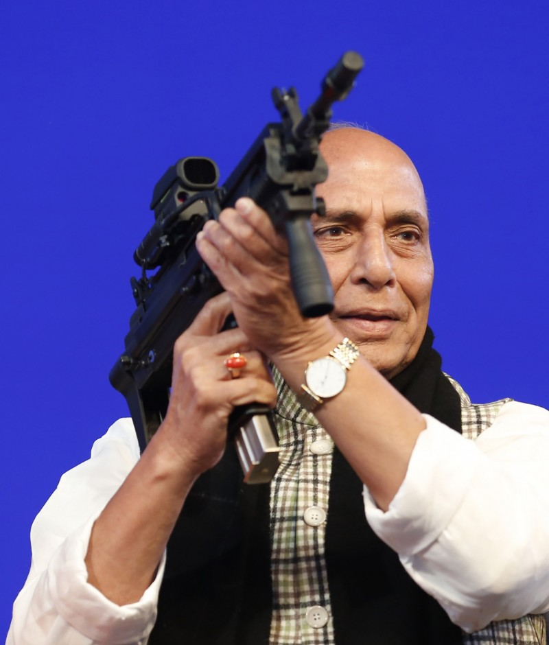 印度國防部長辛格(見圖)表示,印度不再是軟弱的國家。(資料照,美聯社)