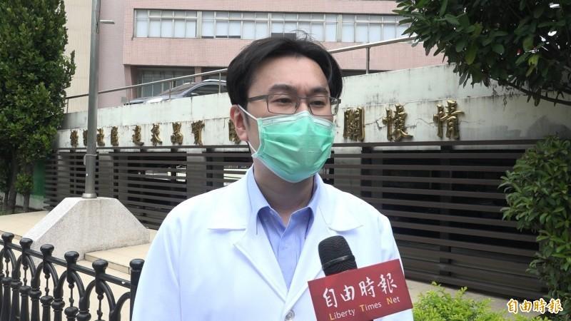 胸腔重症醫師蘇一峰。(資料照)