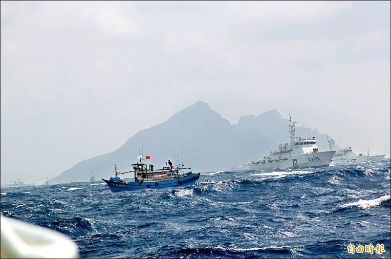 蘇澳漁民8年前發起「為生存,護漁船」行動。(資料照)