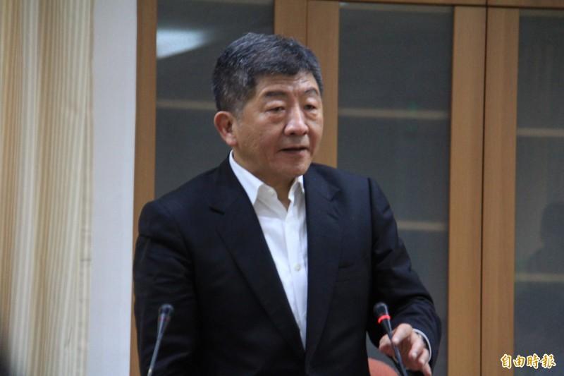 陳時中表示,對於中國武漢肺炎疫情升溫,台灣影響相對小。(記者邱書昱攝)