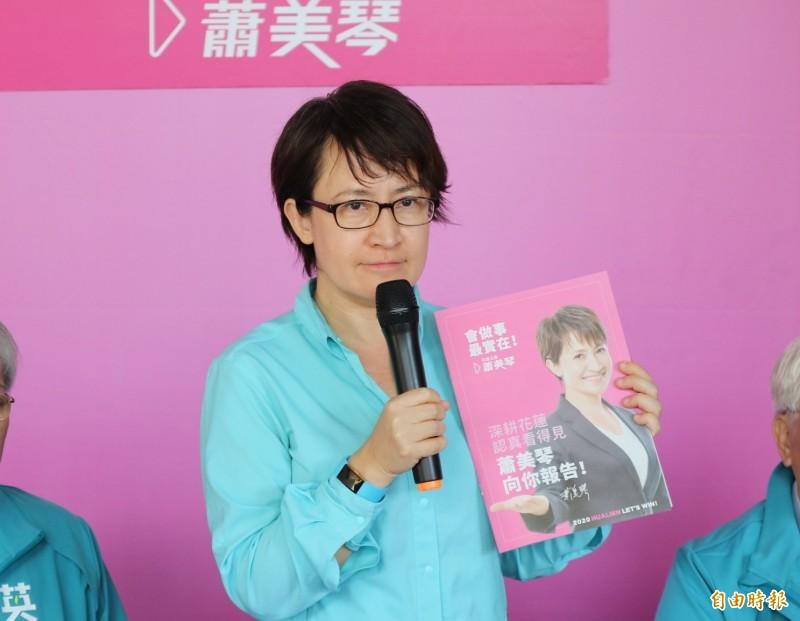 蕭美琴出任駐美代表。(資料照)