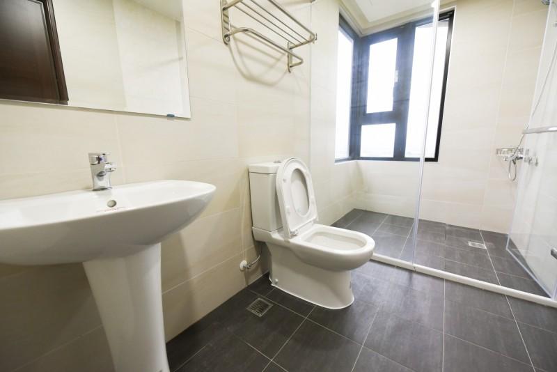 銘傳大學已備好獨棟宿舍提供境外生入境檢疫14天,且具有單獨衛浴,有700多間,現在入境可趕在9月14日開學前完成檢疫。(圖由銘傳大學提供)