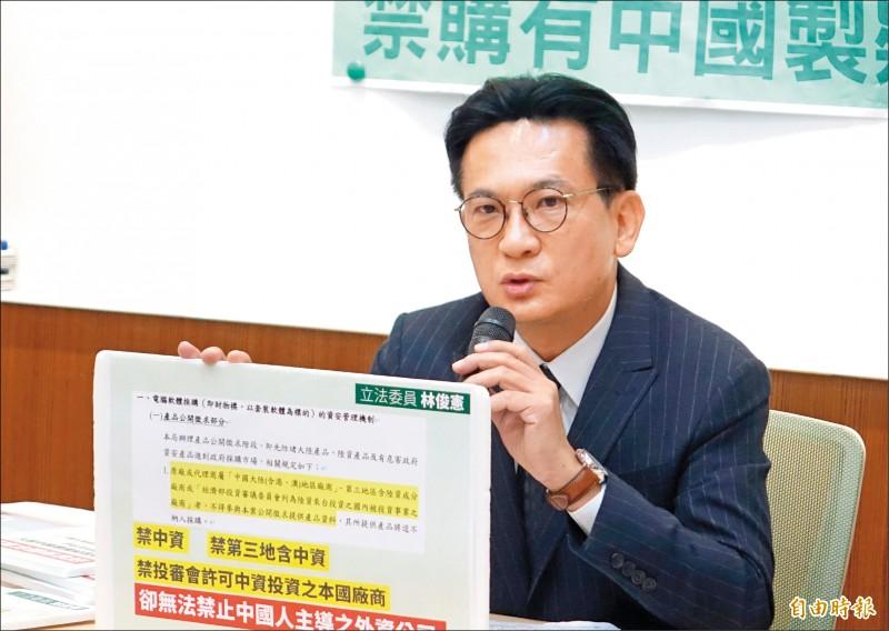 立委︰Fortinet有中國背景 政府採購近5億