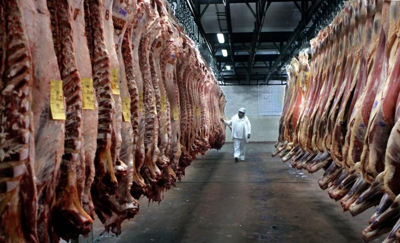 德國知名肉類加工廠爆出大規模群聚感染。圖為示意圖,非本新聞事件。(法新社)