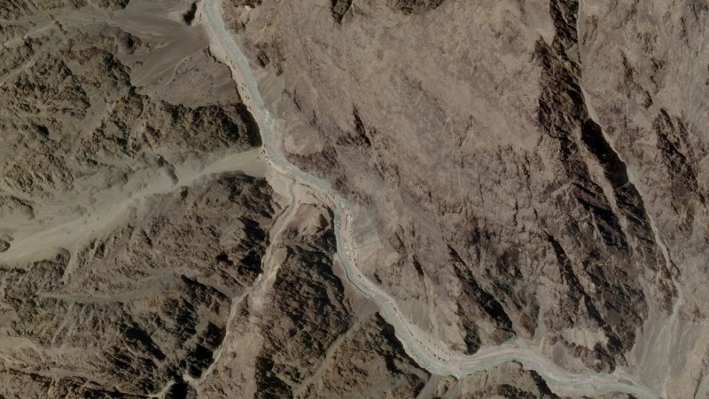 印度與中國軍方在中印邊界的加勒萬河谷(Galwan Valley)發生嚴重衝突。(路透)