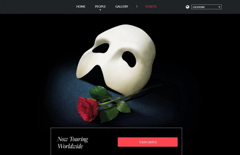 百老匯音樂劇《歌劇魅影》將在睽違6年後四度訪台,進行世界巡演。(擷取自歌劇魅影官網)