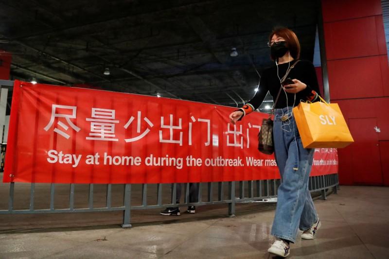中國北京昨再新增25例確診,自11日爆發首起本土病例至今已有183例確診。(路透)