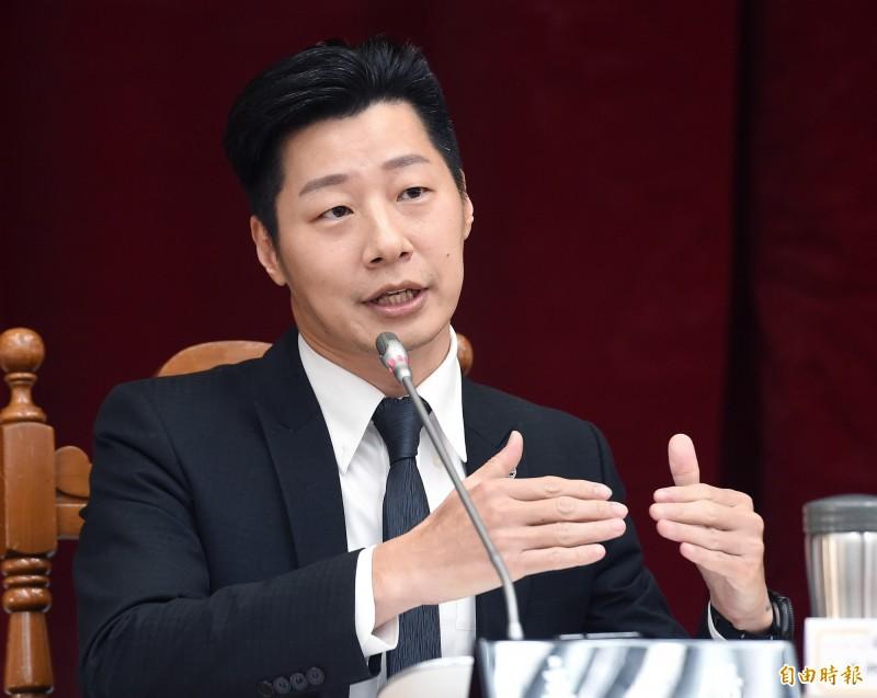 林昶佐質疑,黃健庭不具備擔任監察院副院長的高度。(資料照)