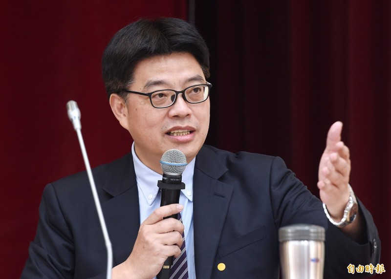 Qiu Cuizheng, deputy chairman of the Continental Committee, said that the continued support of Taiwan's freedom and democracy by the United States and the international community is the best way to fight against the authoritarian regime of the Communist Party of China and its aggressive expansionism. (Photo taken by reporter Liao Zhenhui)