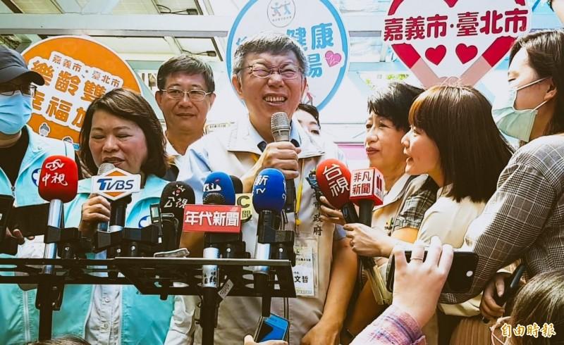 台北市長柯文哲。(記者林宜樟攝)