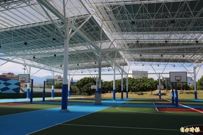 竹南頭份運動公園改建超前 風雨球場、溜冰場端午連假開放 - 生活 - 自