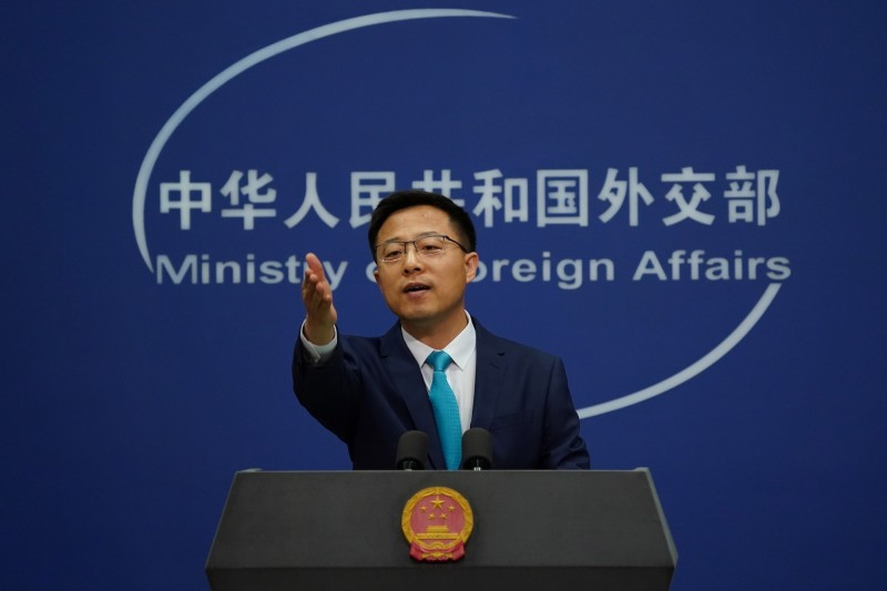 中國外交部發言人趙立堅今日指出,中印兩國已達成協議,同意採取舒緩兩國緊張局勢之作為。(歐新社)