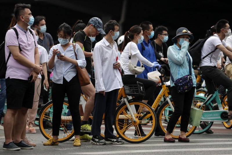 中國北京爆發疫情,影響仍在持續。圖為中國北京街景。(美聯社)