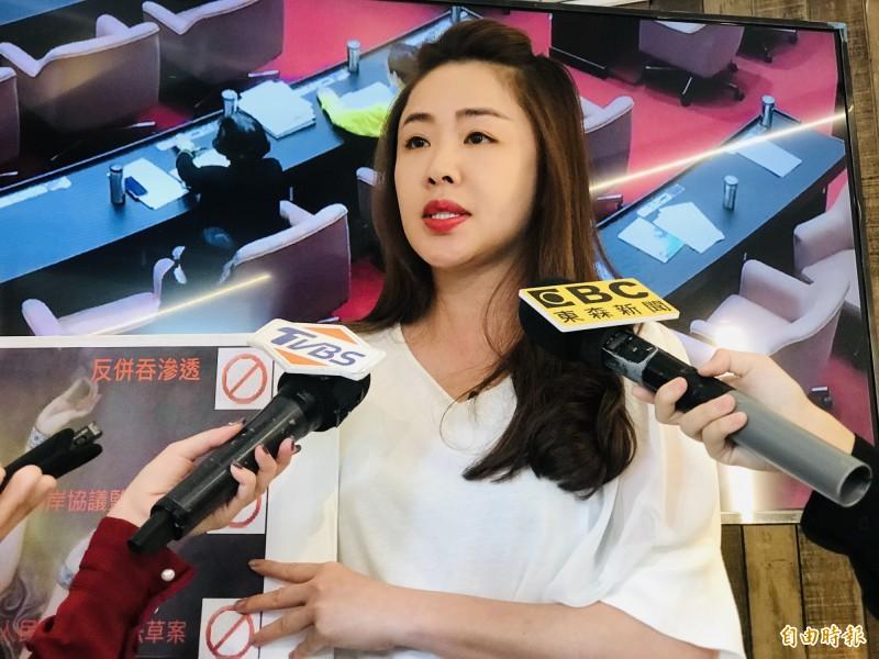 李婉鈺重新申請進入民進黨。(資料照)