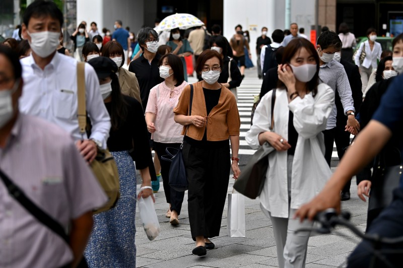 There are 31 more confirmed diagnoses in Tokyo today, and more than 20 new cases have been added in a single day for 6 consecutive days. The total number of cases so far has been 5,840. (AFP)