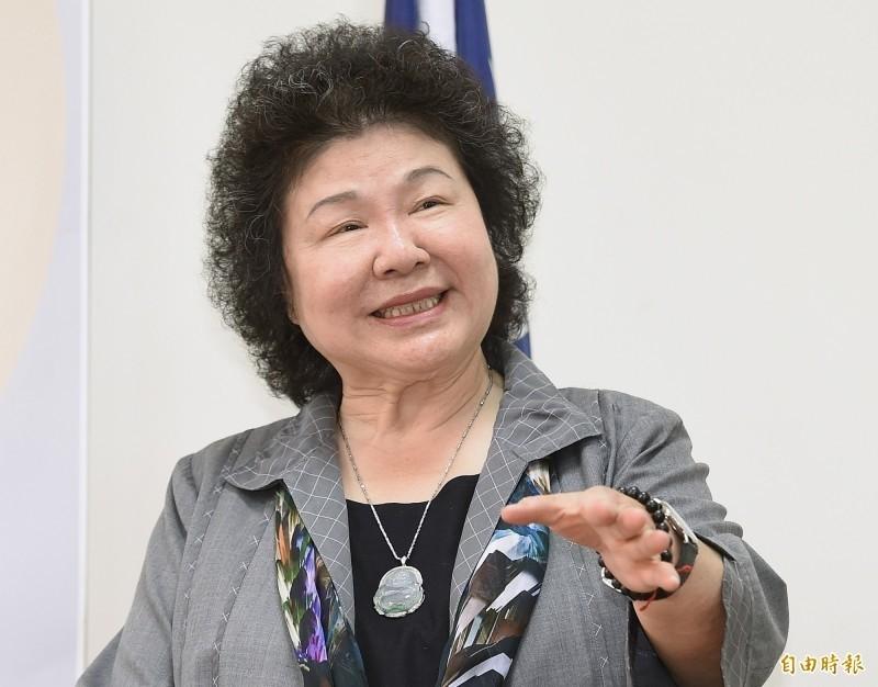 前總統府秘書長陳菊被提名出任第六屆監察院長兼第一屆國家人權委員會主委。(資料照)