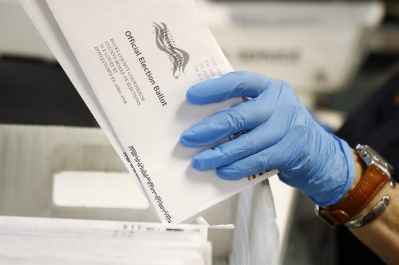 美國總統川普認為郵寄投票將造成選舉不公。(美聯社)