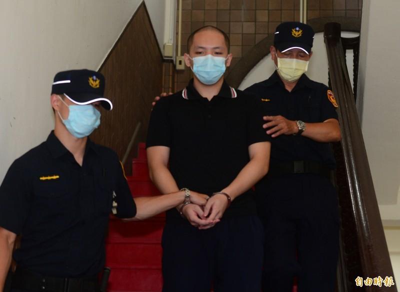 南港女模命案兇嫌程宇今被高等法院宣判無期徒刑。(記者王藝菘攝)