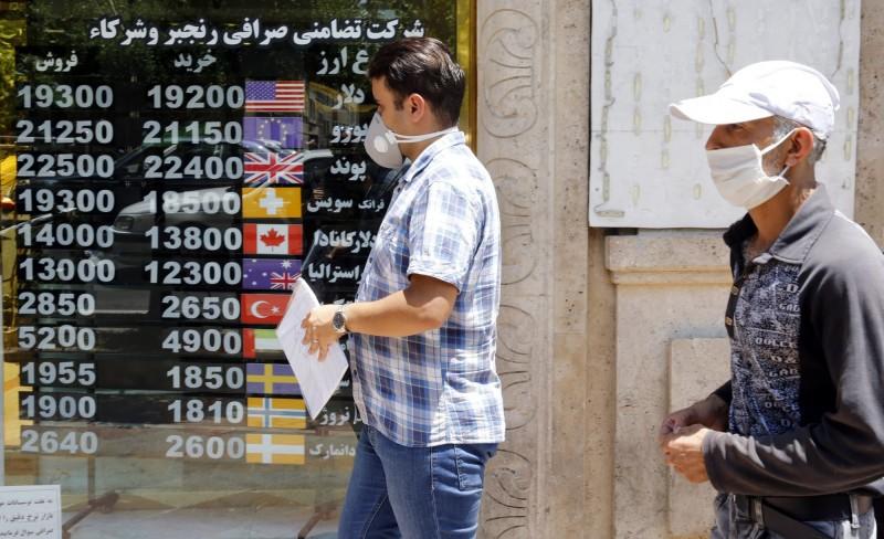 伊朗武肺死亡總數逼近1萬大關。(歐新社)