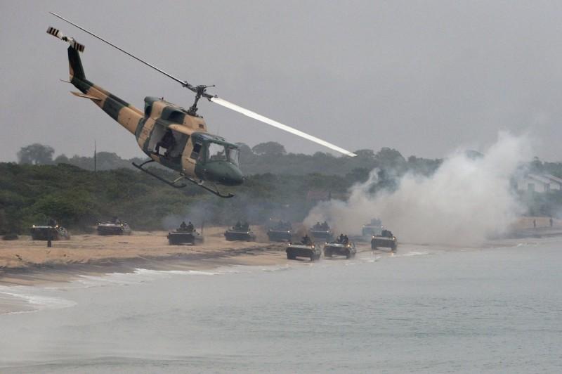 俄媒消息指出,俄羅斯太平洋艦隊將在北極圈舉行大規模演習,該國將安排兩隻海軍陸戰部隊進行對抗,過程中包含登陸及行軍演練。圖為示意圖。(資料照,法新社)