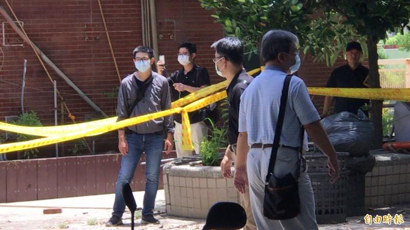 高雄愛河分屍棄屍昨天偵破!朝財殺追查破案逮1名殺人分屍兇嫌。(記者黃良傑攝)