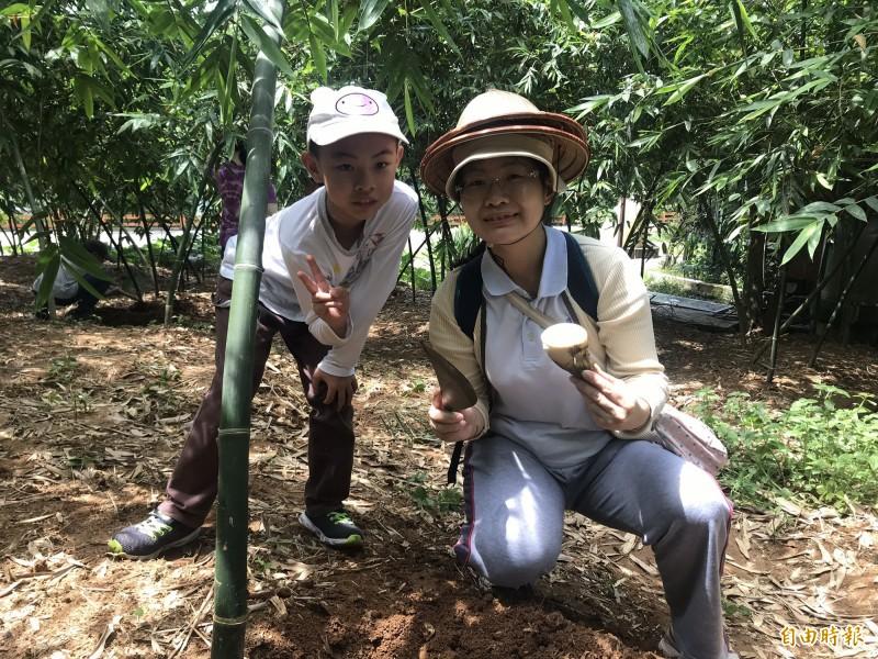 五股綠竹社區即日起至9月5日每週末推出系列活動。(記者周湘芸攝)